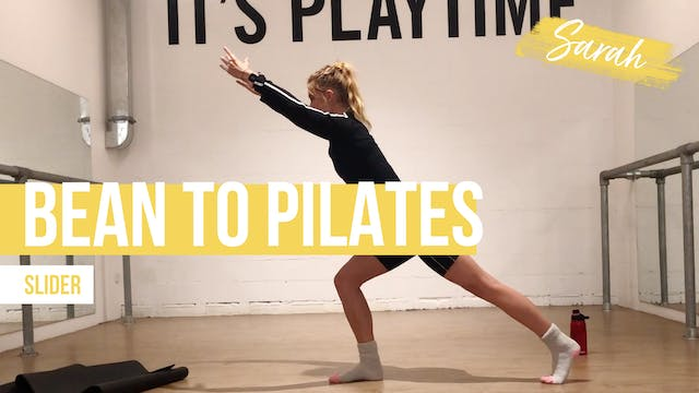 Bean to Pilates [Sliders] with Sarah