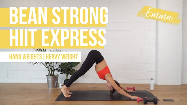 Bean Strong HIIT Express with Emma
