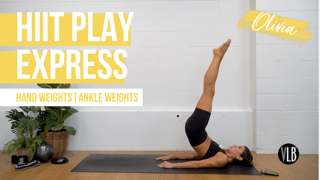HIIT Play Express with Olivia