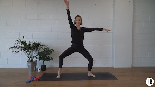 Lower Body Sculpt with Lizzie