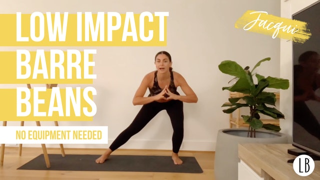 Low Impact Barre Beans with Jacqui