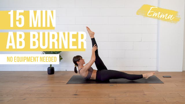 15 Min Ab Burner with Emma