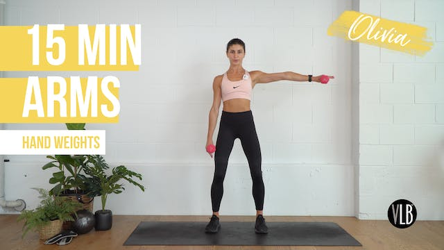15 Min Arms with Olivia