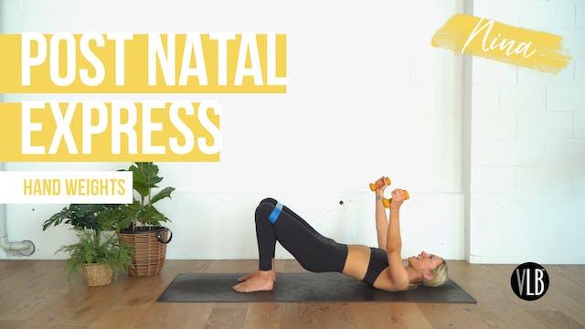 Post Natal Pilates with Nina