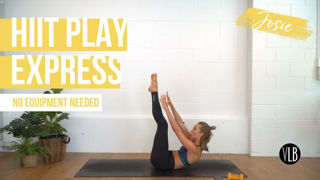 HIIT Play Express with Josie