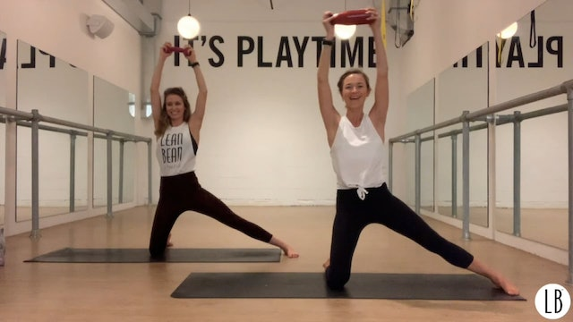 Bean to Pilates with Lizzie
