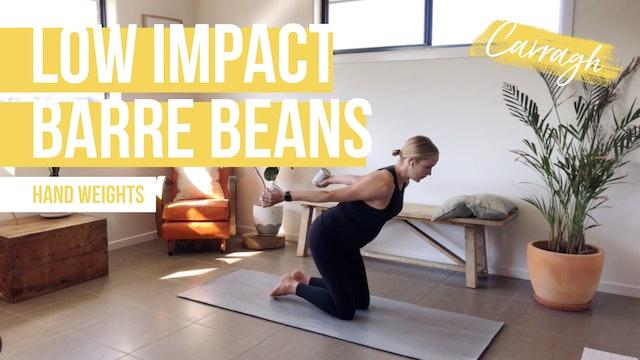 **TOP PICK** Low Impact Barre Beans Carragh