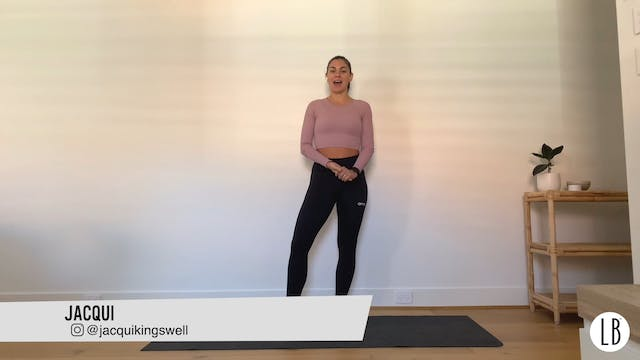 Bean to Pilates with Jacqui