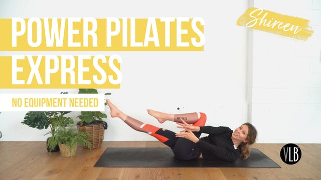 Day 4: Power Pilates Express with Shi...
