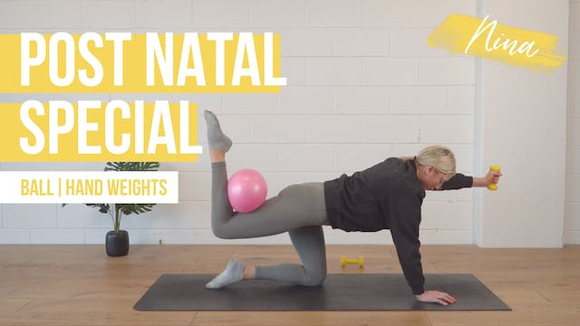 Post Natal Special with Nina