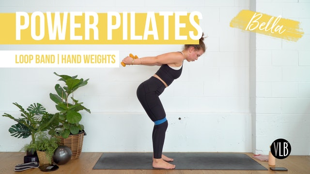 **NEW** Power Pilates with Bella
