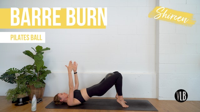 NEW: Barre Burn with Shireen