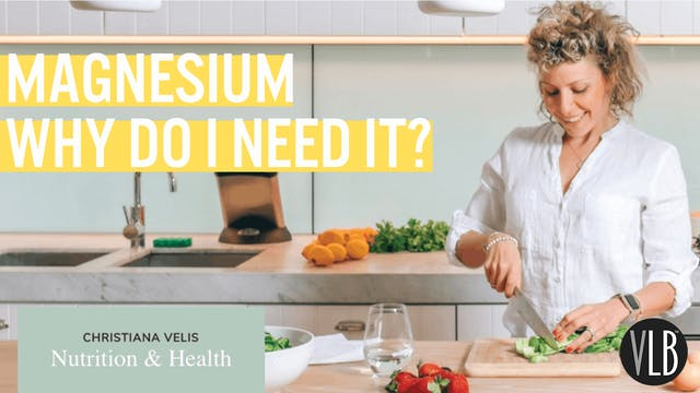 Nutrition Wednesday - Magnesium - Why...
