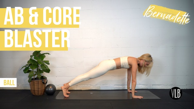 TOP PICK: Ab & Core Blaster with Bernadette