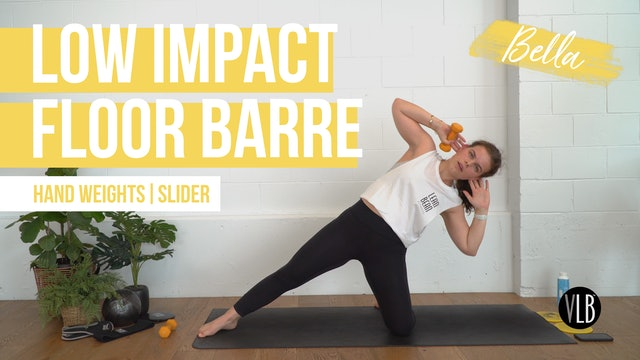 Low Impact Floor Barre with Bella