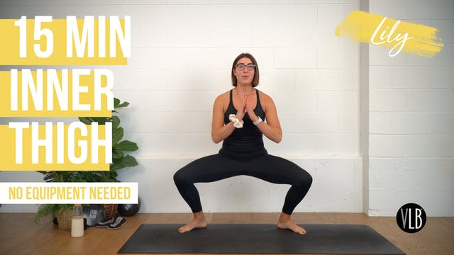 15 Min Inner Thigh with Lily
