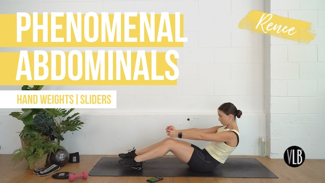 Phenomenal Abdominals with Renee