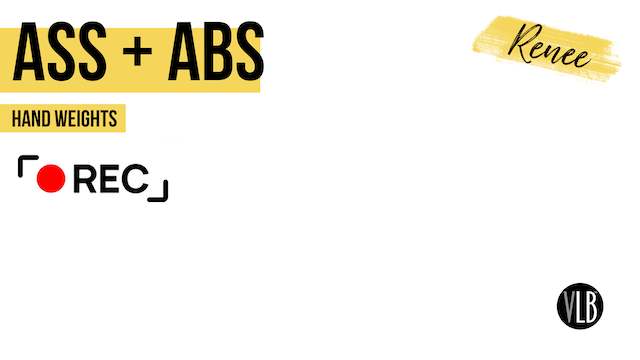 Live On Demand: Ass + Abs with Renee