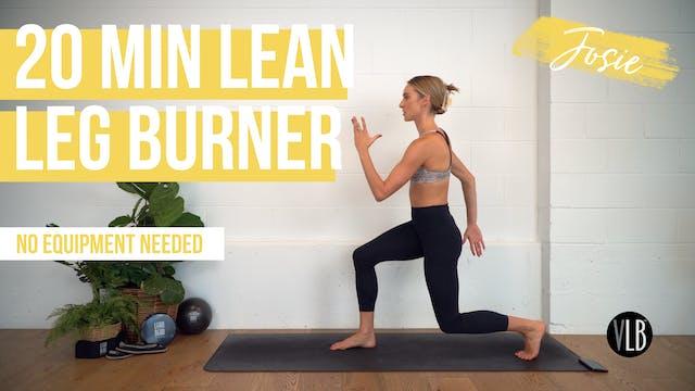 NEW: 20 Min Lean Legs Burner with Josie