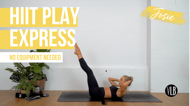 DAY 5: HIIT Play Express with Josie