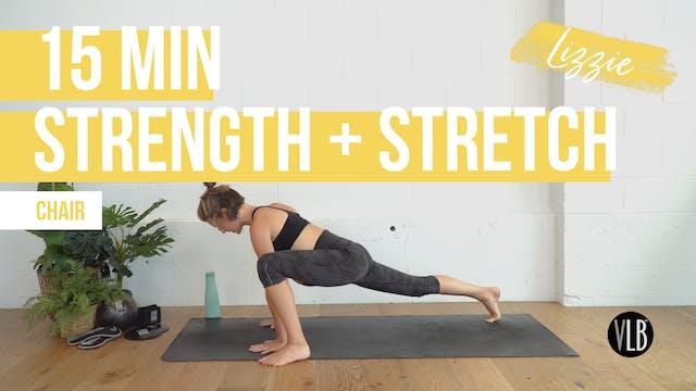15 Min Strength & Stretch with Lizzie