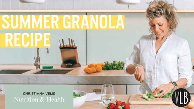 **NEW** Nutrition Wednesday - Summer Granola Recipe