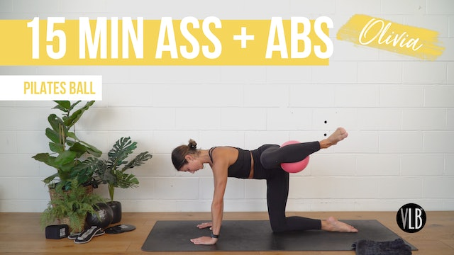 15 Min Ass and Abs with Olivia