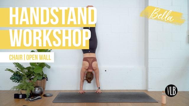 Handstand Workshop with Bella