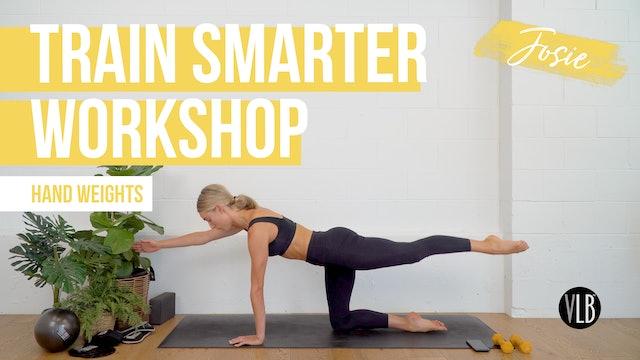 Train Smarter Workshop with Josie
