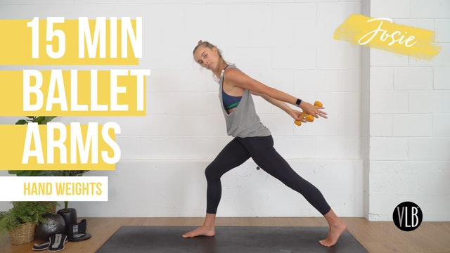 15 Min Ballet Arms with Josie
