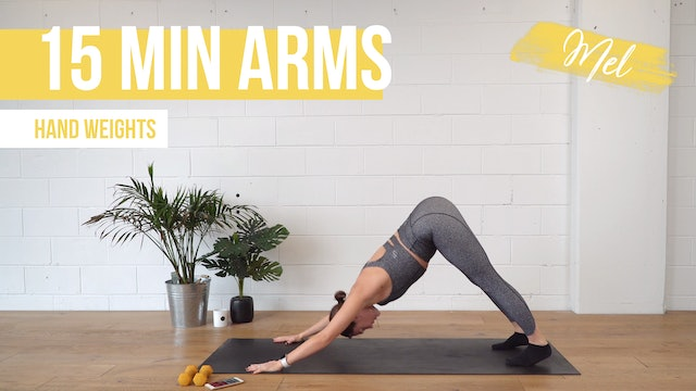 15 Min Arms with Mel