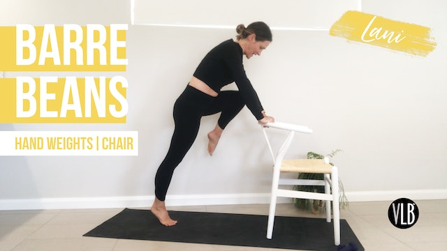 **NEW** Barre Beans with Lani