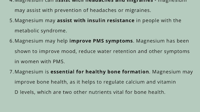 What's the Big Deal with Magnesium?