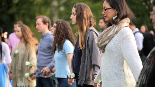 World Peace Meditation with Deepak Chopra | Imagine Circle Central Park, NYC