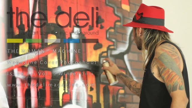 The Deli Magazine Cover Issue #41 - The Woman . Machine - The Art Kartel