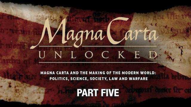 Magna Carta Unlocked - Sacrifice and Remembrance