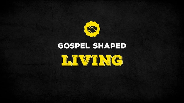 The Gospel Shaped Living - A Generous Living in a Stingy World