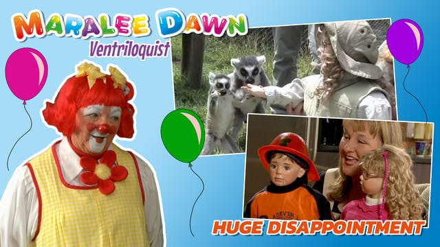 Maralee Dawn and Friends: Huge Disapp...