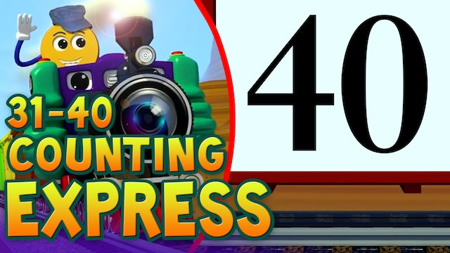 Counting Numbers 31-40