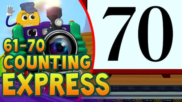 Counting Numbers 61-70-