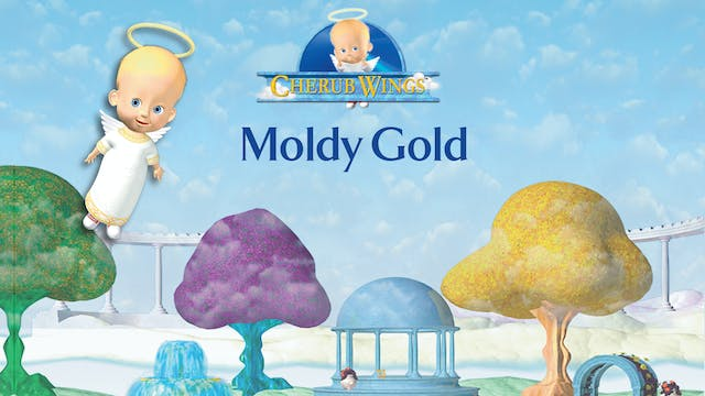 Cherub Wings - Moldy Gold