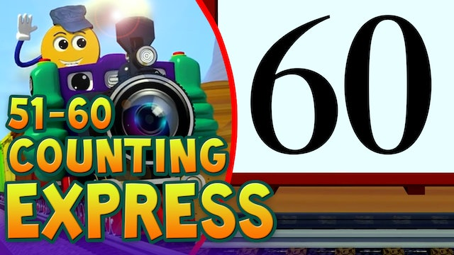 Counting Numbers 51-60