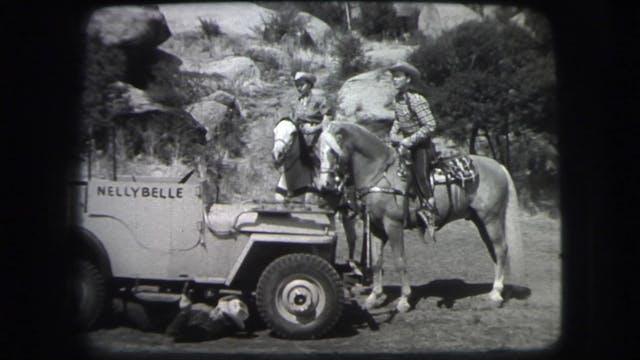 Dale Evans Beyond Happy Trails - Back...