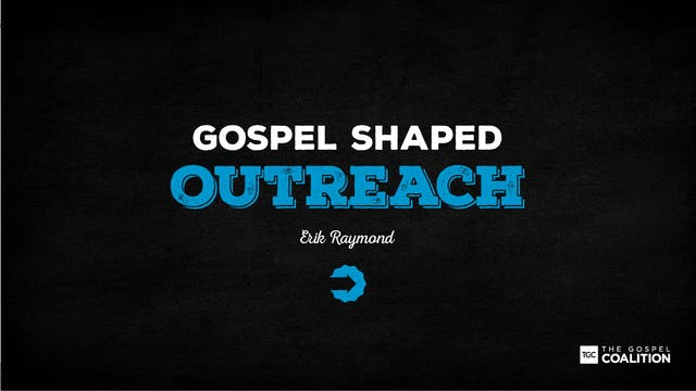 The Gospel Shaped Outreach - Who is J...