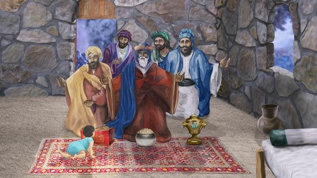 REY de GLORIA - La entrada del Rey