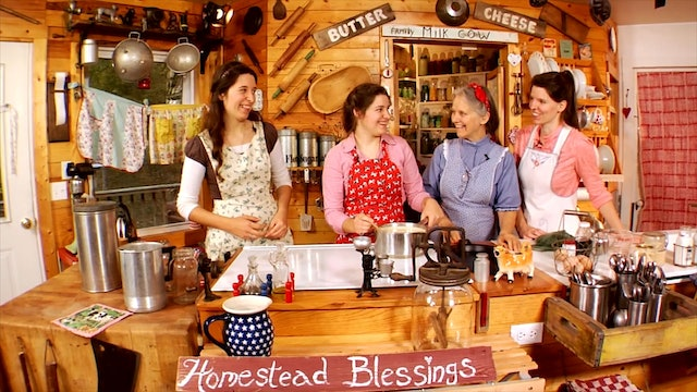 Homestead Blessing - The Art of Dairy Delights