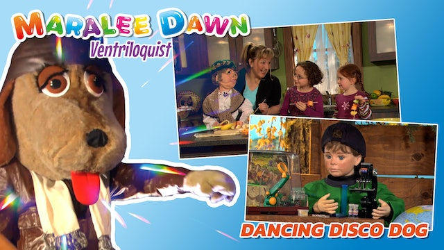 Maralee Dawn and Friends: Dancing Disco Dog