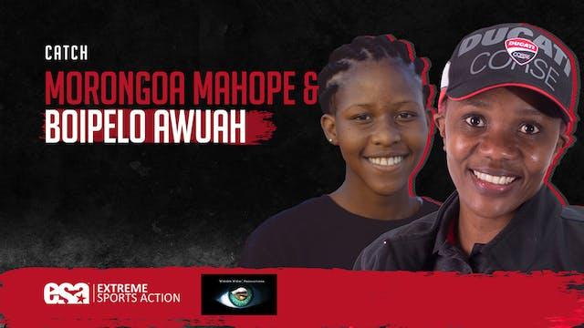 Boipelo Awuah (Bike Racer) & Morongoa...