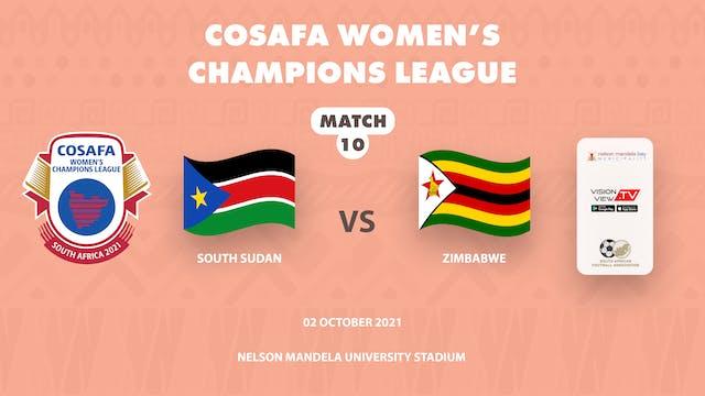 South Sudan vs Zimbabwe