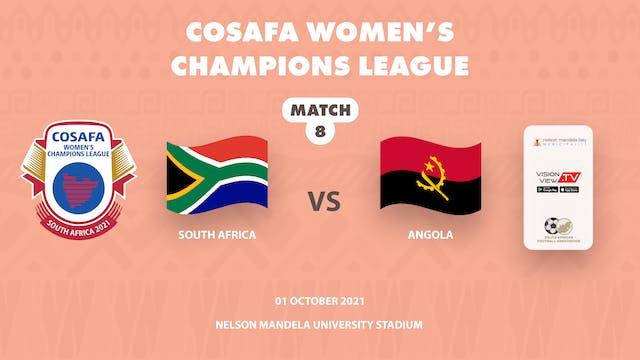 South Africa vs Angola